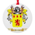 Fairley Round Ornament