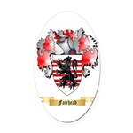 Fairhead Oval Car Magnet