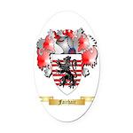 Fairhair Oval Car Magnet