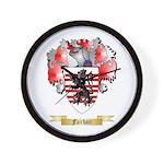 Fairhair Wall Clock