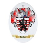 Fairhair Ornament (Oval)