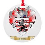 Fairfax Round Ornament