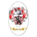Fairfax Sticker (Oval 10 pk)