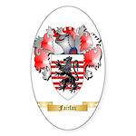 Fairfax Sticker (Oval 50 pk)