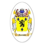Faircloth Sticker (Oval 50 pk)