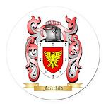 Fairchild Round Car Magnet