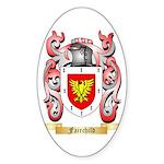 Fairchild Sticker (Oval 50 pk)