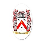 Fairburn Oval Car Magnet