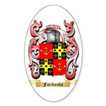 Fairbanks Sticker (Oval 50 pk)