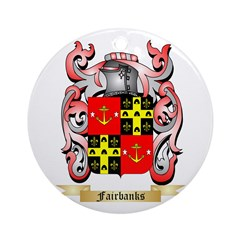 Fairbanks Ornament (Round)