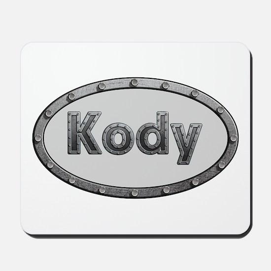 Kody Metal Oval Mousepad