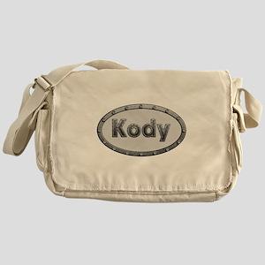 Kody Metal Oval Messenger Bag
