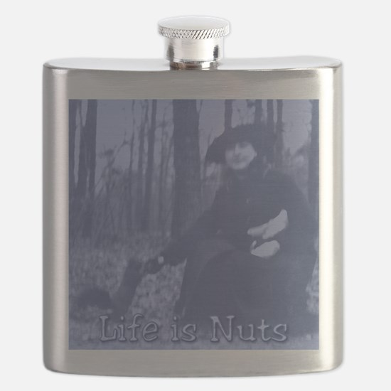 Life is Nuts Flask