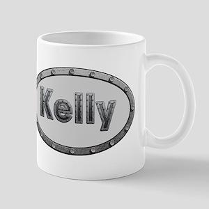 Kelly Metal Oval Mugs