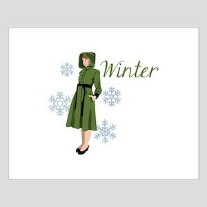 Vintage Winter Coat Posters