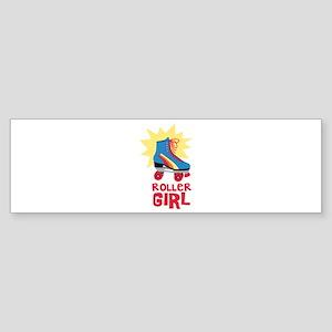 Roller Girl Bumper Sticker