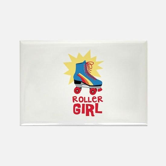 Roller Girl Magnets