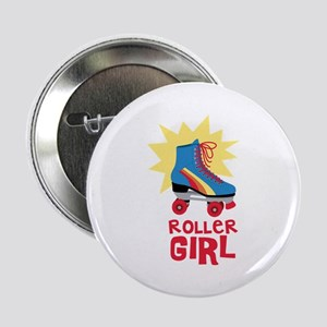 "Roller Girl 2.25"" Button"