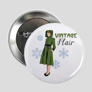 "Vintage Flair 2.25"" Button"