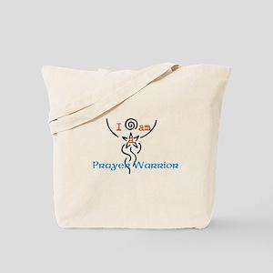 I am a Prayer Warrior Tote Bag