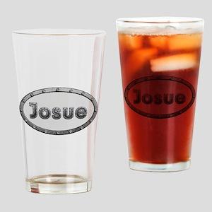 Josue Metal Oval Drinking Glass