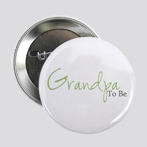 Grandpa To Be (Green Script) Button