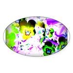 Violets Sticker
