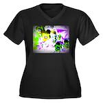 Violets Plus Size T-Shirt