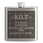 Kilt-Dont Call It A Skirt Flask