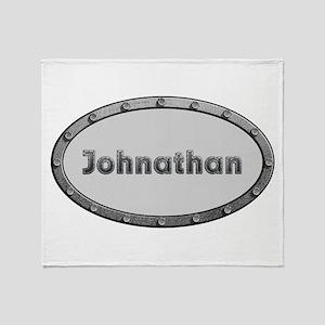 Johnathan Metal Oval Throw Blanket