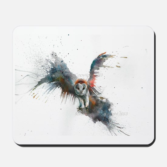 Eric In Flight Mousepad