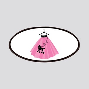 Poodle Skirt Patches