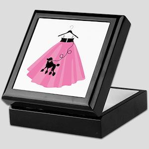 Poodle Skirt Keepsake Box