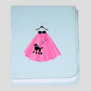 Poodle Skirt baby blanket