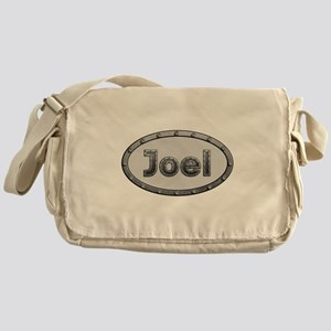 Joel Metal Oval Messenger Bag