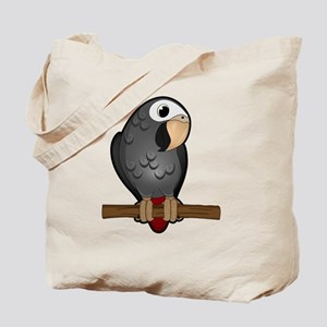 Cute Timneh African Grey Tote Bag