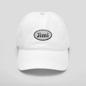 Jimi Metal Oval Baseball Cap