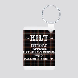 Kilt-Dont Call It A Skirt Keychains
