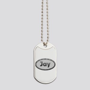 Jay Metal Oval Dog Tags