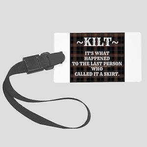 Kilt-Dont Call It A Skirt Luggage Tag