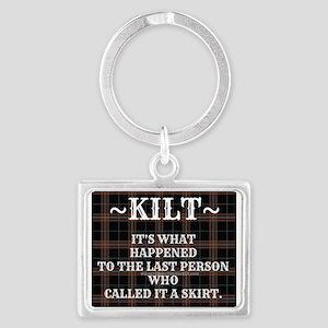 Kilt-Dont Call It A Skirt Keychains