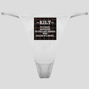 Kilt-Dont Call It A Skirt Classic Thong