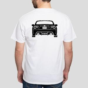 86Drive.Com V2 White T-Shirt