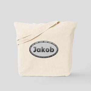 Jakob Metal Oval Tote Bag