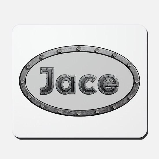 Jace Metal Oval Mousepad