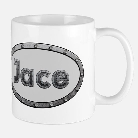 Jace Metal Oval Mugs