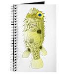 Striped Burrfish Porcupinefish fish Journal