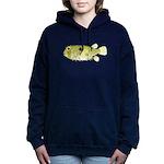 Striped Burrfish Porcupinefish c Hooded Sweatshirt