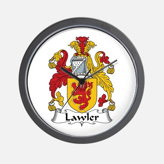 Lawler Wall Clock