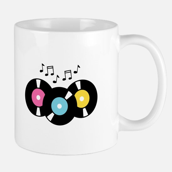 Music Records Notes Mugs